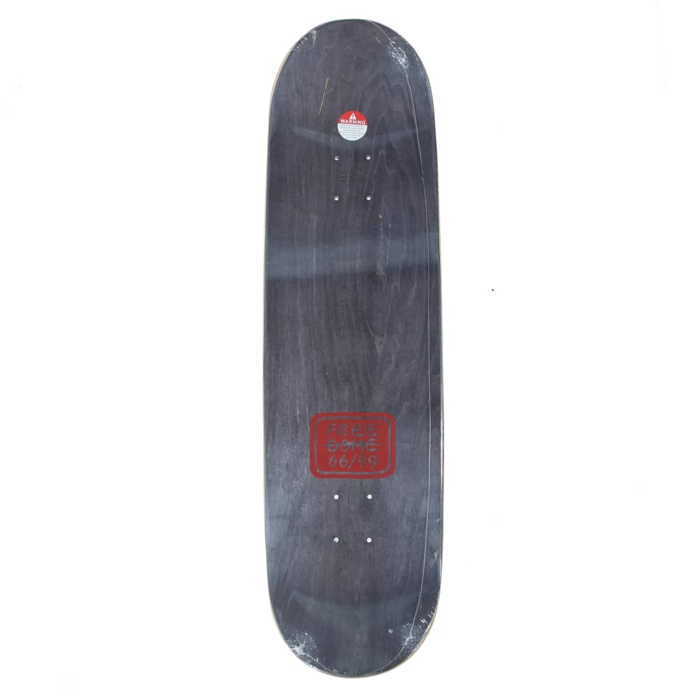 """Free Dome Skate Heart deck - 8.25"""" 