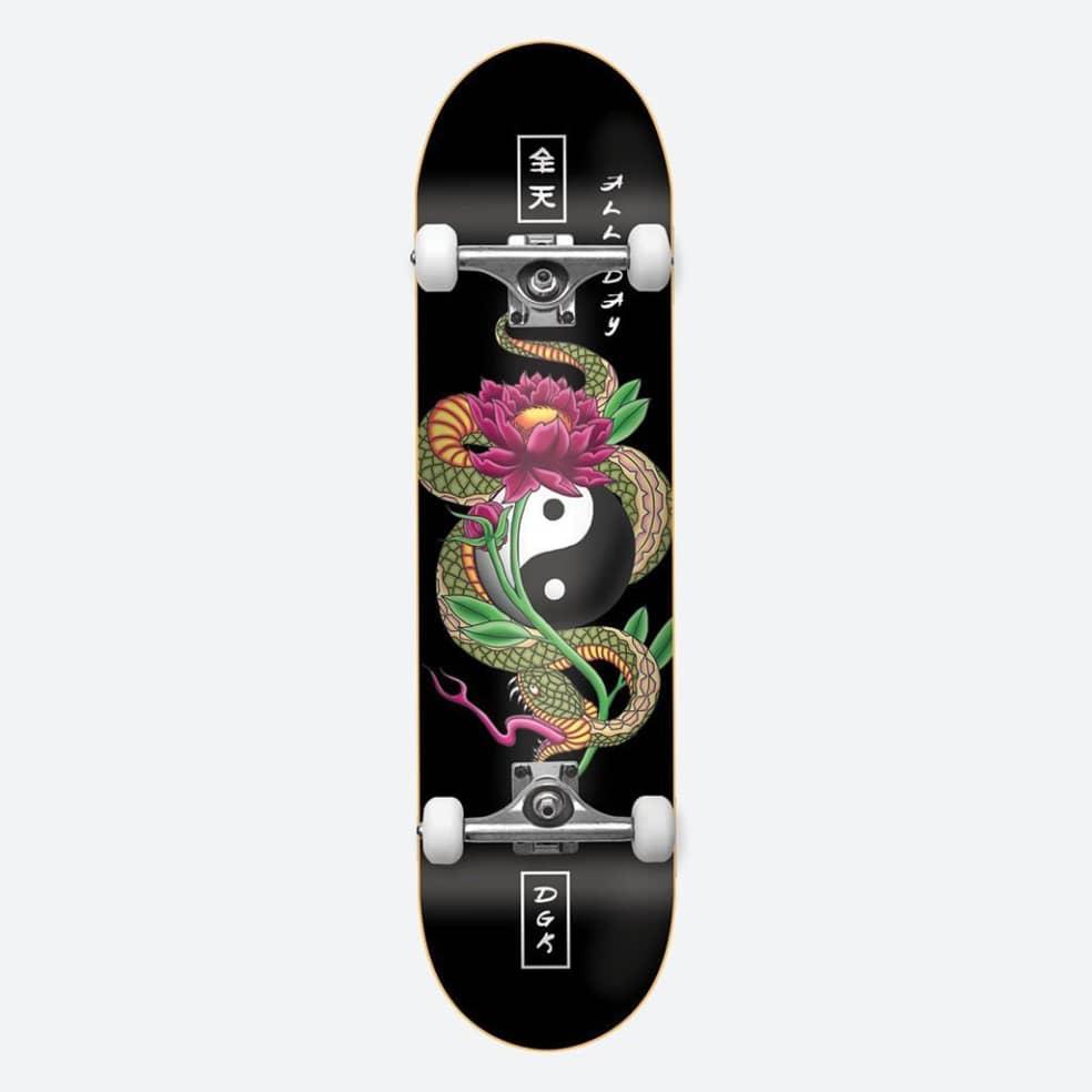 "DGK Viper Complete Skateboard - 8"" | Complete Skateboard by DGK 1"