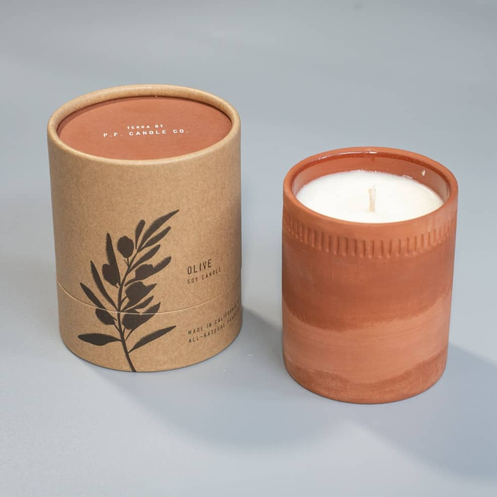 P.F candles - Terra candle 8oz   Giftables by P.F candles 1