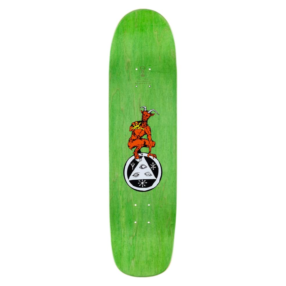 """Welcome The Magician on Son of Planchette Skateboard Deck - 8.38"""" 