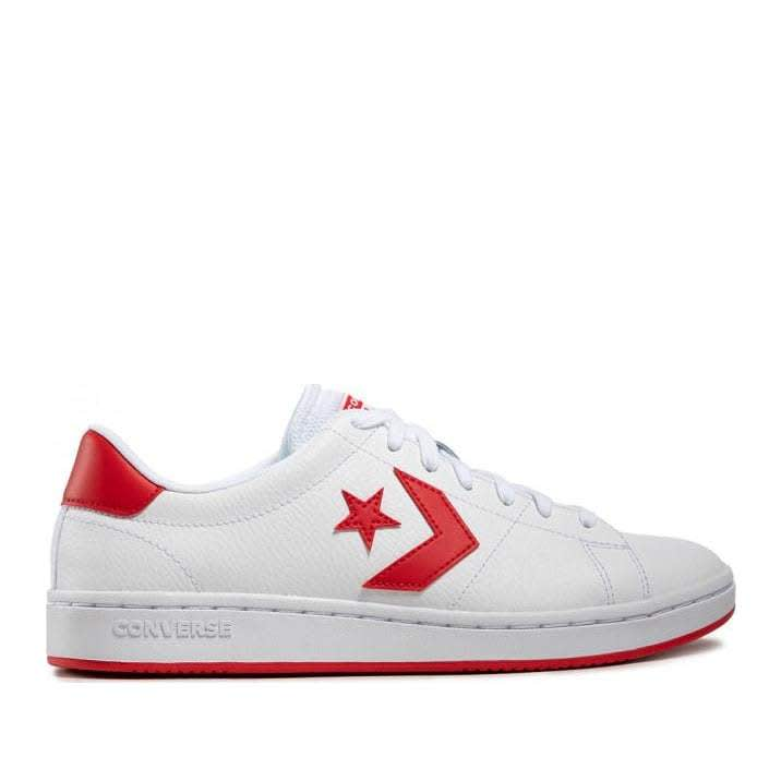 Converse All-Court Ox - White / University Red | Shoes by Converse Cons 1
