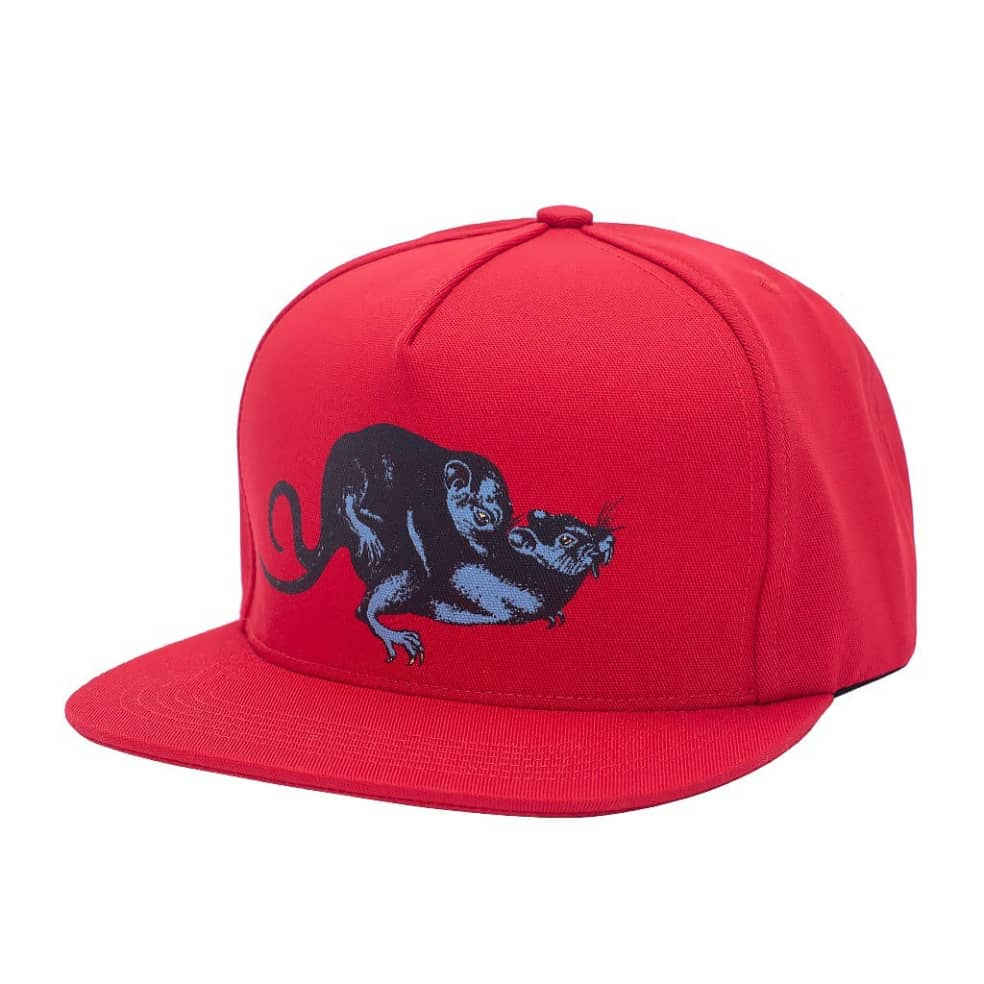 Fucking Awesome Rat Pack Snapback - Red   Snapback Cap by Fucking Awesome 1