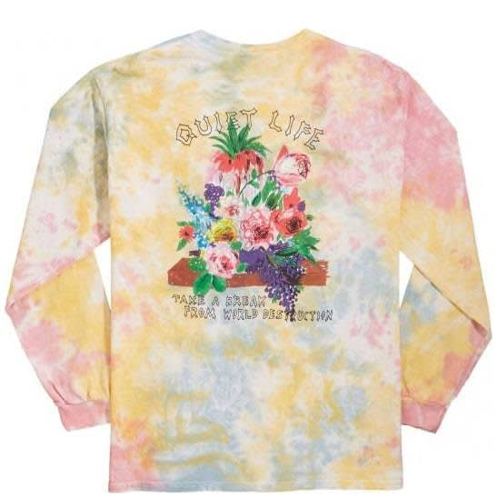 The Quiet Life Take a Break Long Sleeve T-Shirt - Tie Dye | Longsleeve by The Quiet Life 1