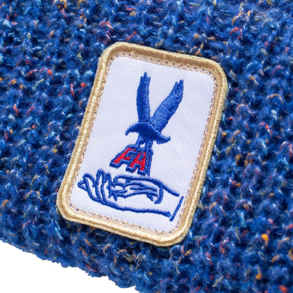 Fucking Awesome Beanie Hawk Speckle Blue   Beanie by Fucking Awesome 2
