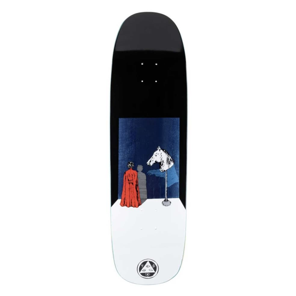 Haunted Horse on Golem - Black/White - 9.25 | Deck by Welcome Skateboards 1