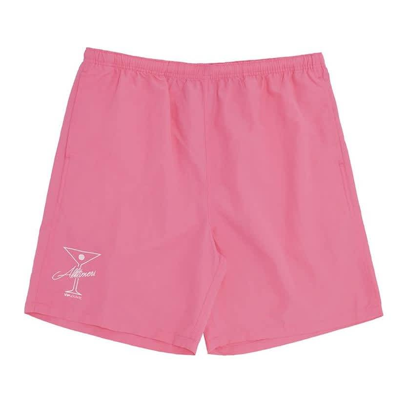 Alltimers League Player Nylon Shorts - Pink | Shorts by Alltimers 1