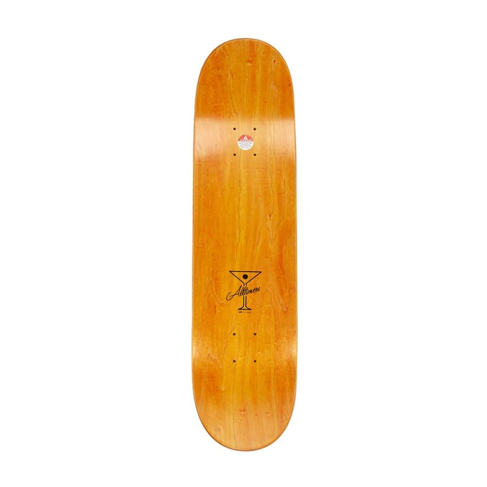 """Alltimers Fortifying Zered Skateboard Deck - 8.25"""" 