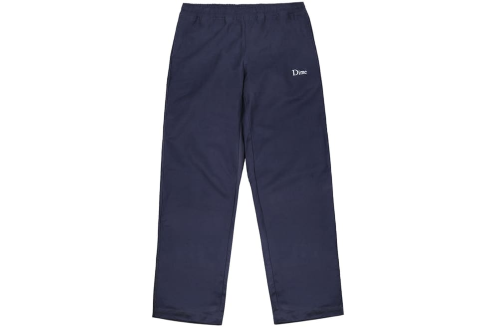 Dime - Dime Twill Pants - Navy | Trousers by Dime 1