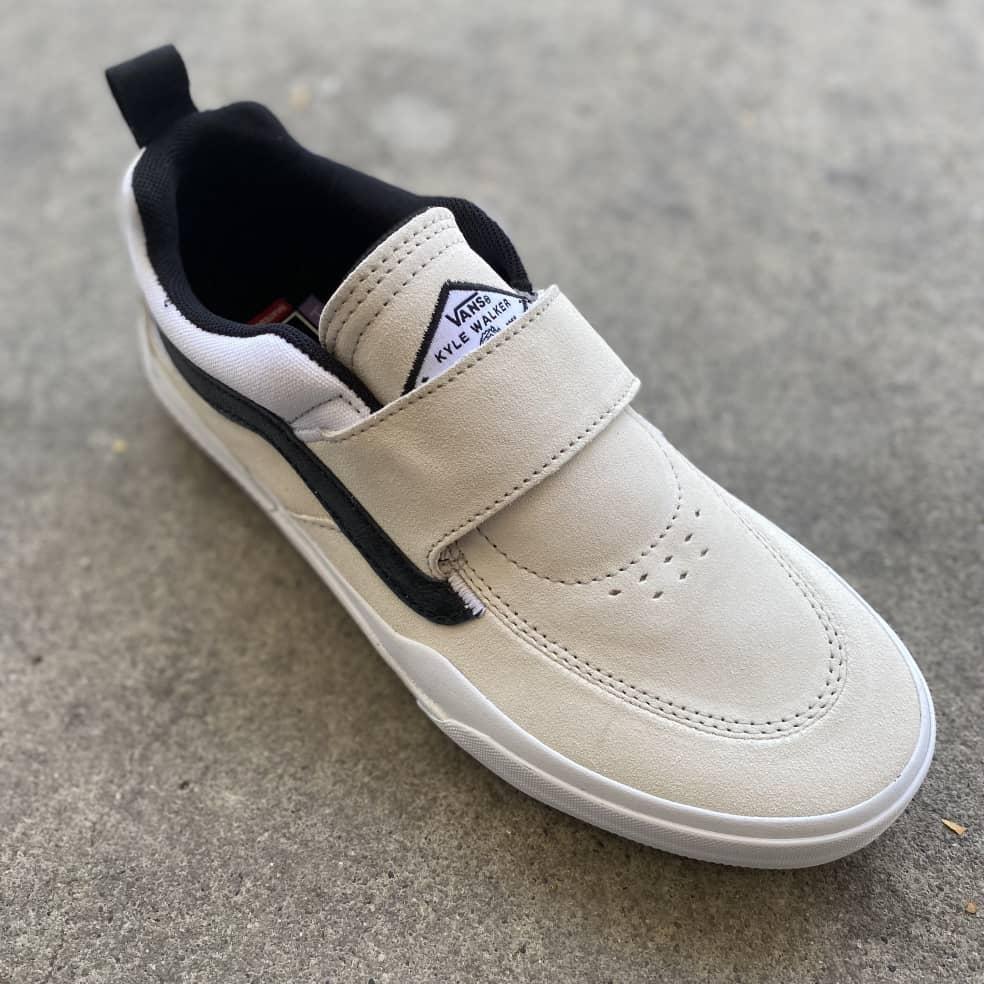 Vans Kyle Pro 2 Shoes - White / Black | Shoes by Vans 3