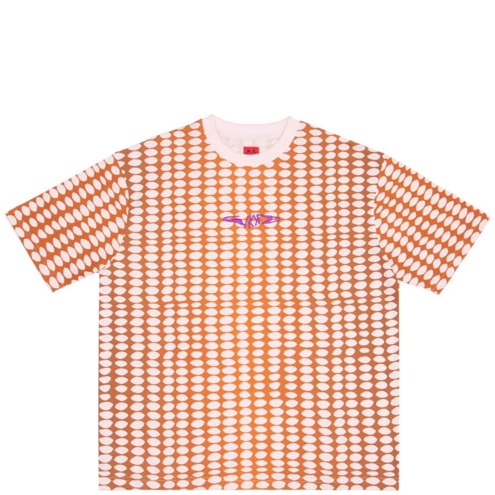 WKND Bubble T-Shirt - Pink / Brown | T-Shirt by WKND 1
