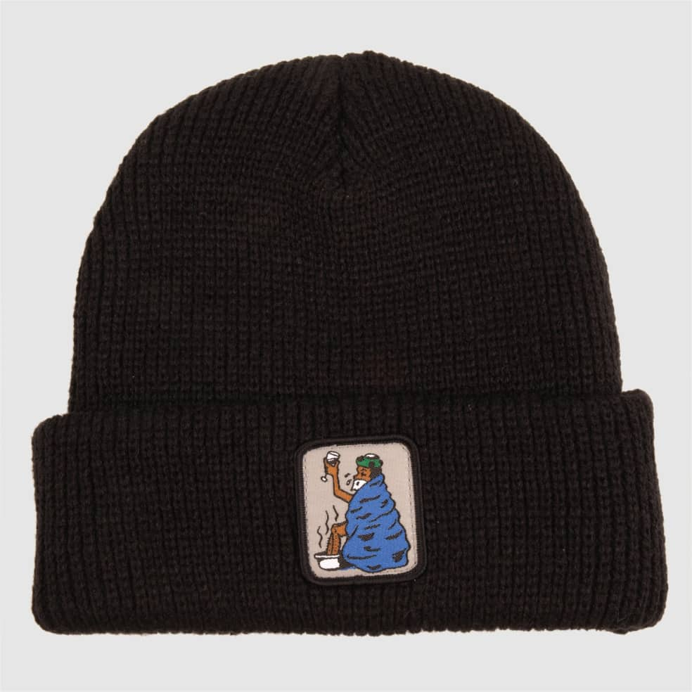 Pass~Port Cold Out Beanie - Black   Beanie by Pass~Port Skateboards 1