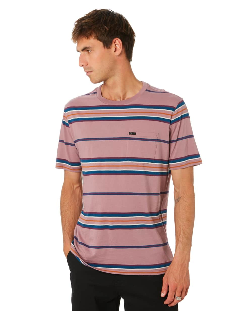 BRIXTON HILT S/S POCKET KNIT - WASHED CONCORD | T-Shirt by Brixton 2
