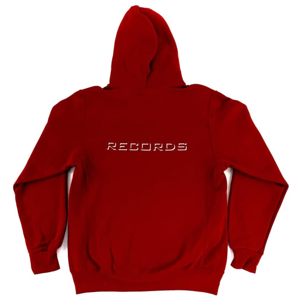 Cousin Records CR Hoodie - Cardinal | Hoodie by Cousin Records 2