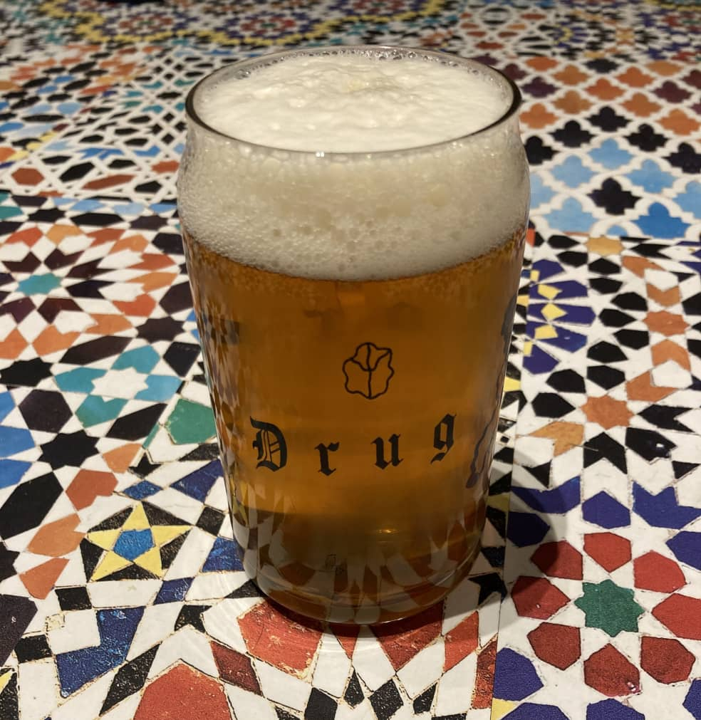 DRUG STORE Beer Can Glass   Giftables by Drug Store 3