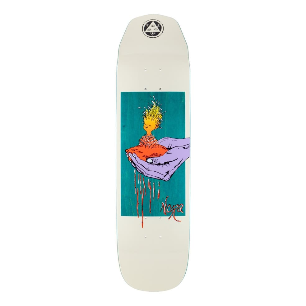 Welcome Nora Vasconcellos Soil On Wicked Princess Skateboard Deck 8.125 | Deck by Welcome Skateboards 1