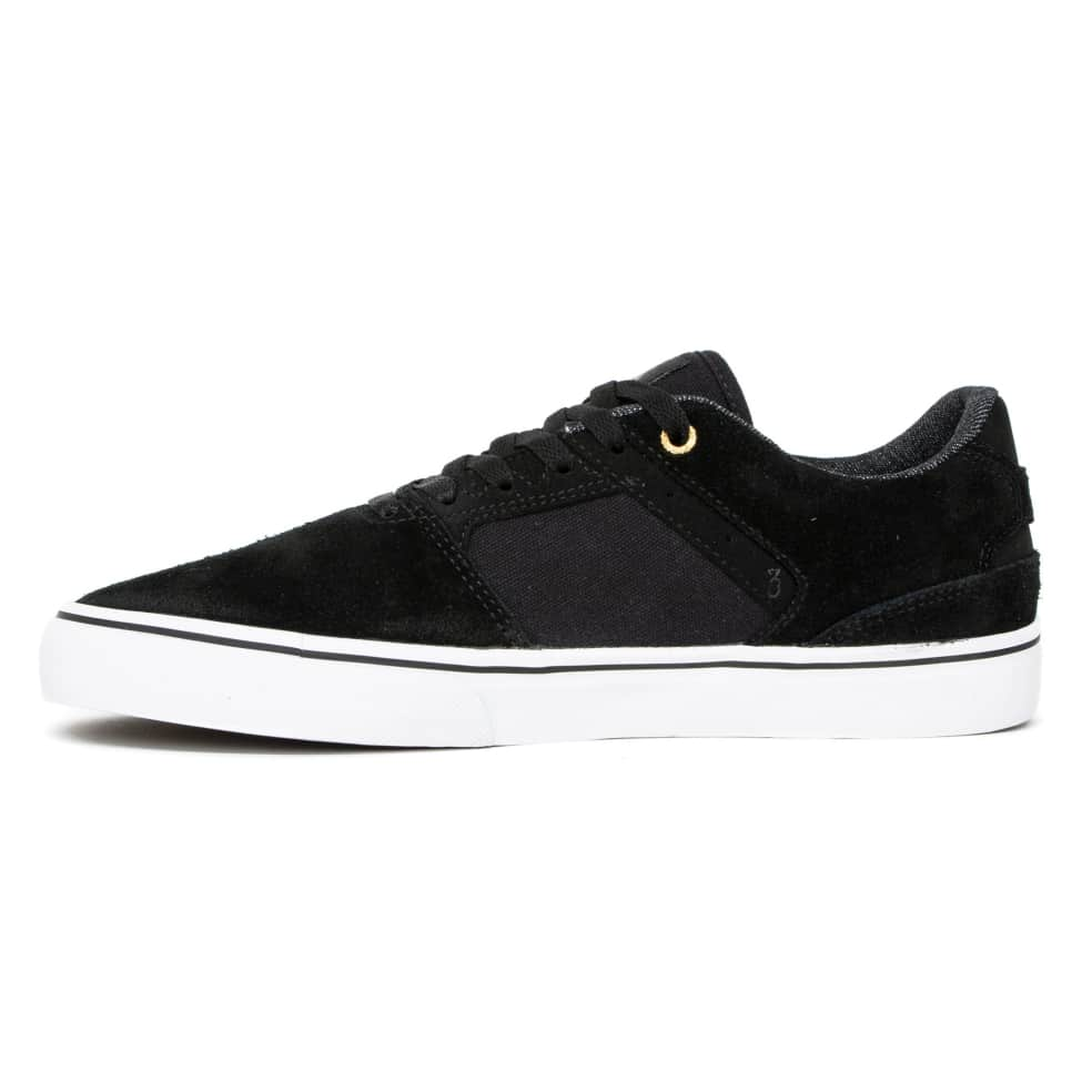 Emerica The Low Vulc Skate Shoes - Black / White / Gold | Shoes by Emerica 2