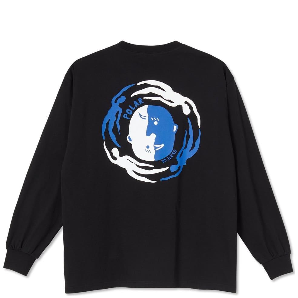 Polar Skate Co Circle Of Life Long Sleeve T-Shirt - Black | Longsleeve by Polar Skate Co 1