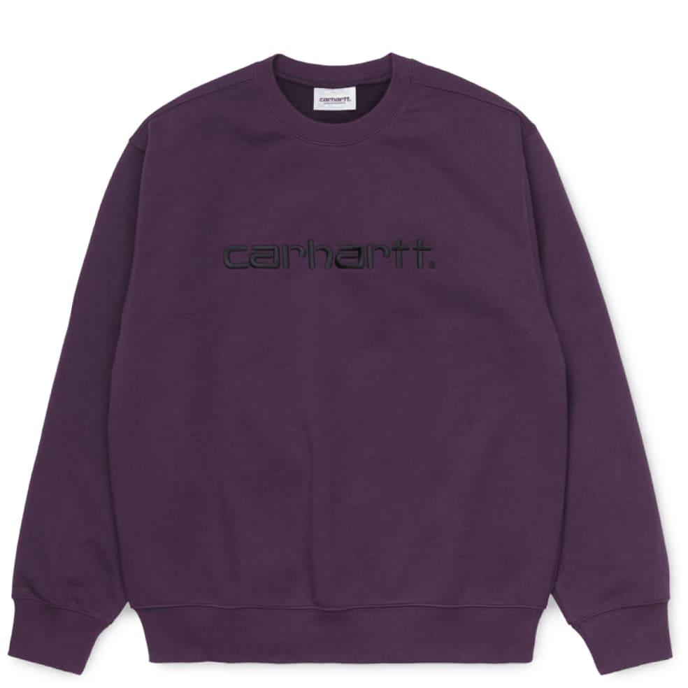 Carhartt WIP Sweatshirt - Boysenberry | Sweatshirt by Carhartt WIP 1