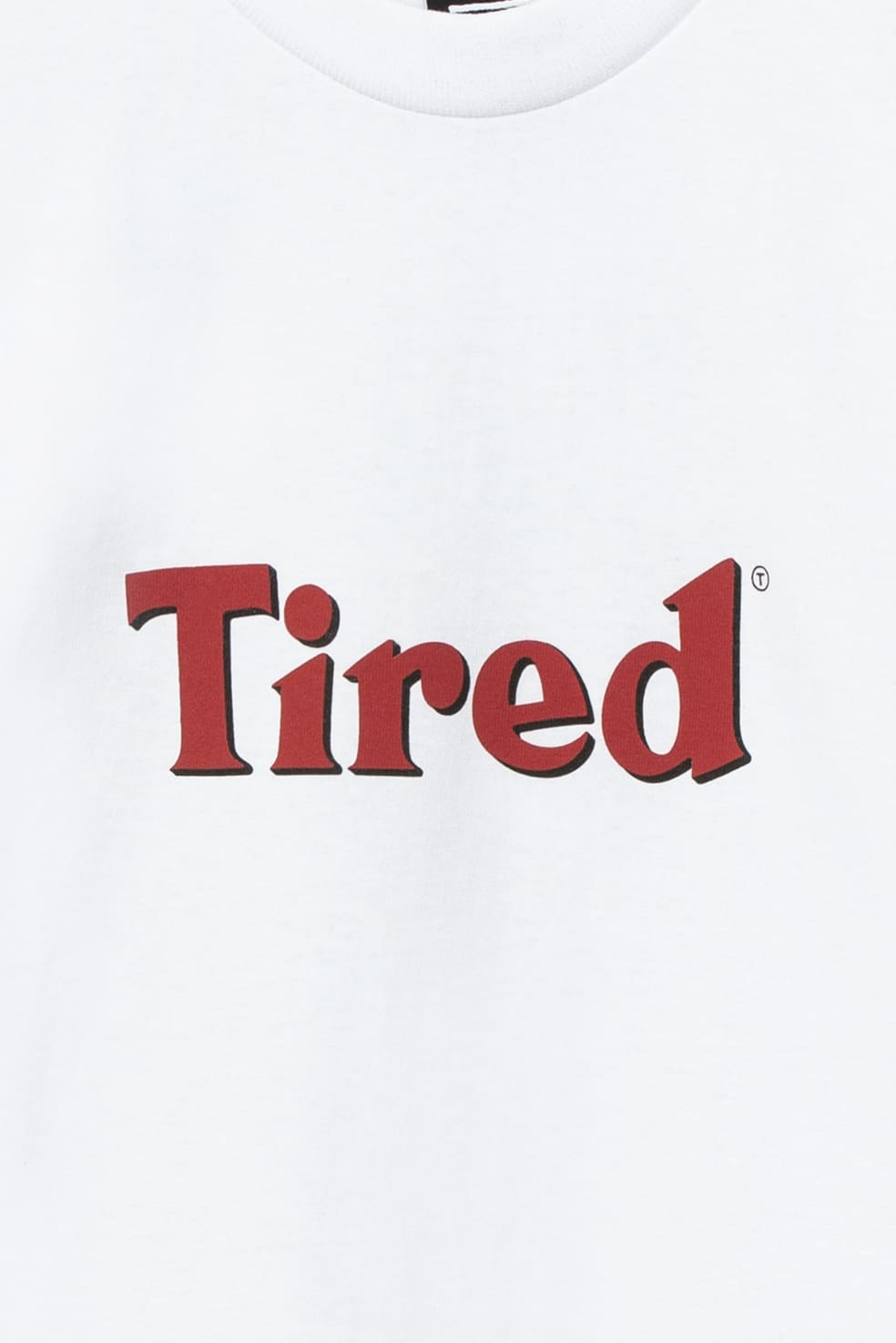 Tired Bloody Tired T-Shirt - White | T-Shirt by Tired Skateboards 3