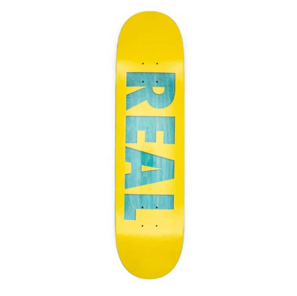 """Real Skateboards Bold Series 8.06"""" Deck   Deck by Real Skateboards 1"""