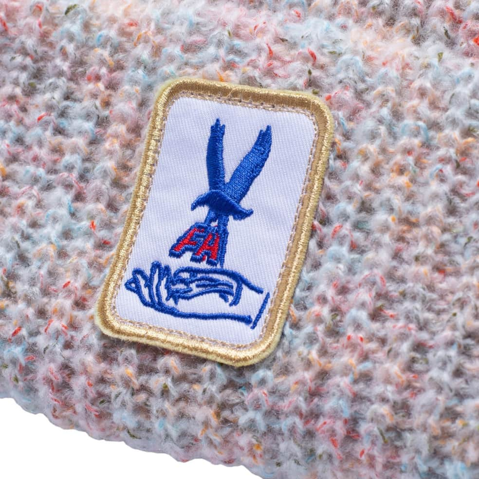 Fucking Awesome Beanie Hawk Speckle White   Beanie by Fucking Awesome 2