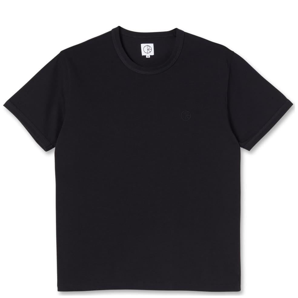 Polar Skate Co Ringer T-Shirt - Black | T-Shirt by Polar Skate Co 1