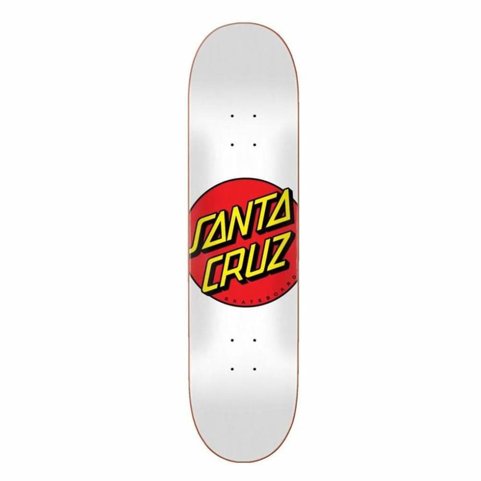 "Santa Cruz - Classic Dot Skateboard - 8"" | Deck by Santa Cruz Skateboards 1"