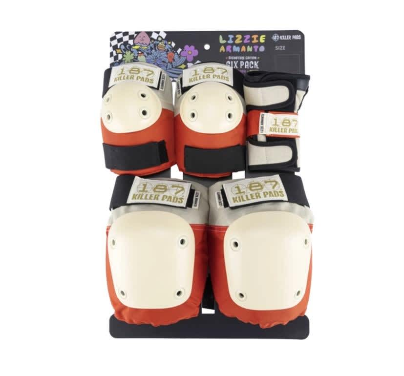 187 Killer Pads Lizzie Armanto 6 Pack Pad Set | Pads by 187 Killer Pads 1