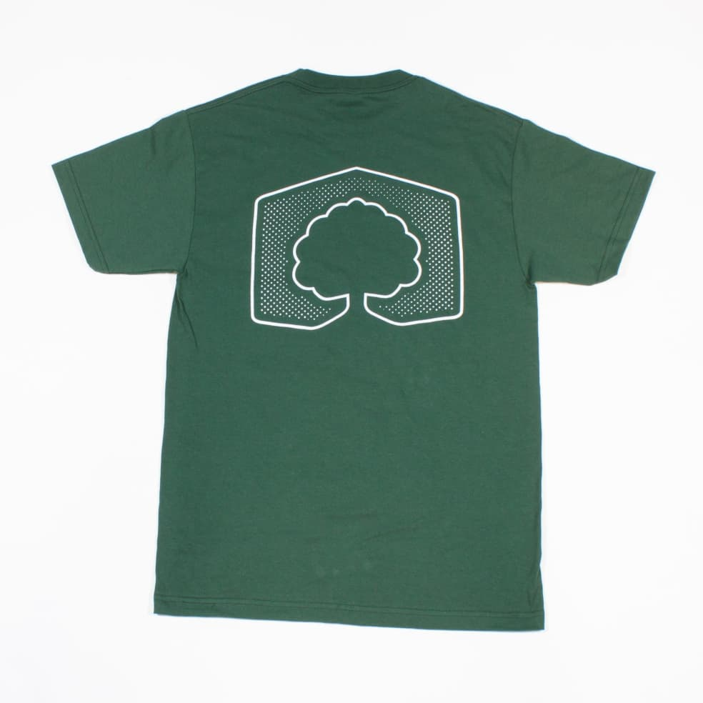 Campus Park Ranger T- Shirt - Forest Green | T-Shirt by Campus Skate Store 2