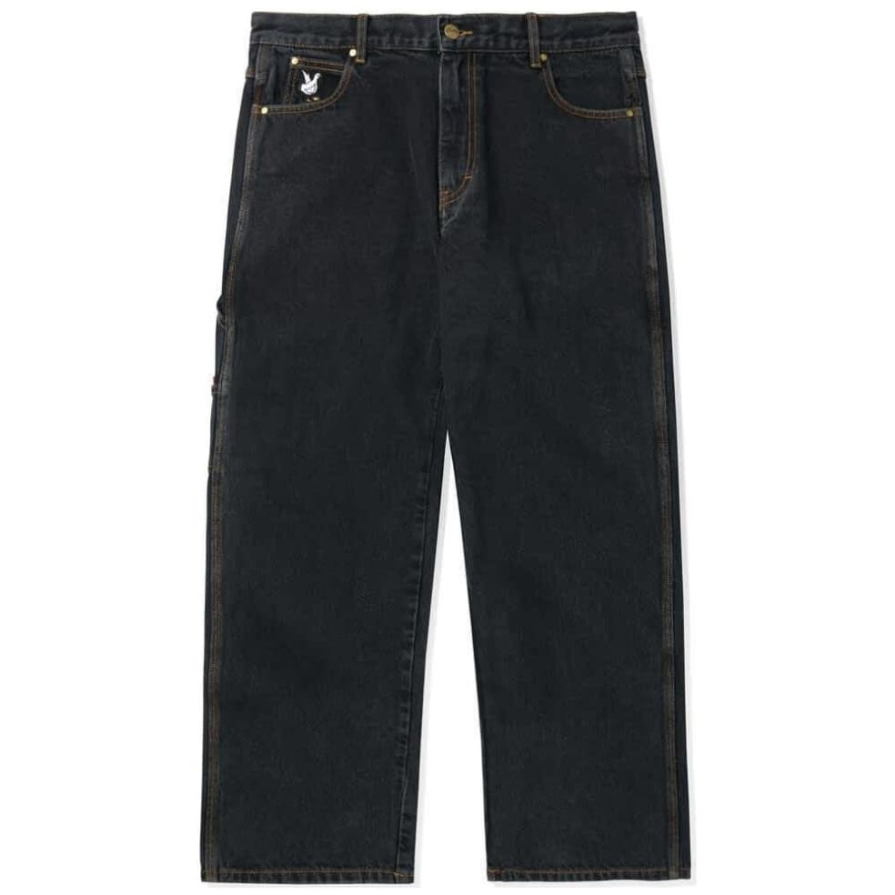 Butter Goods Gullwing Denim Pant - Washed Black | Jeans by Butter Goods 1