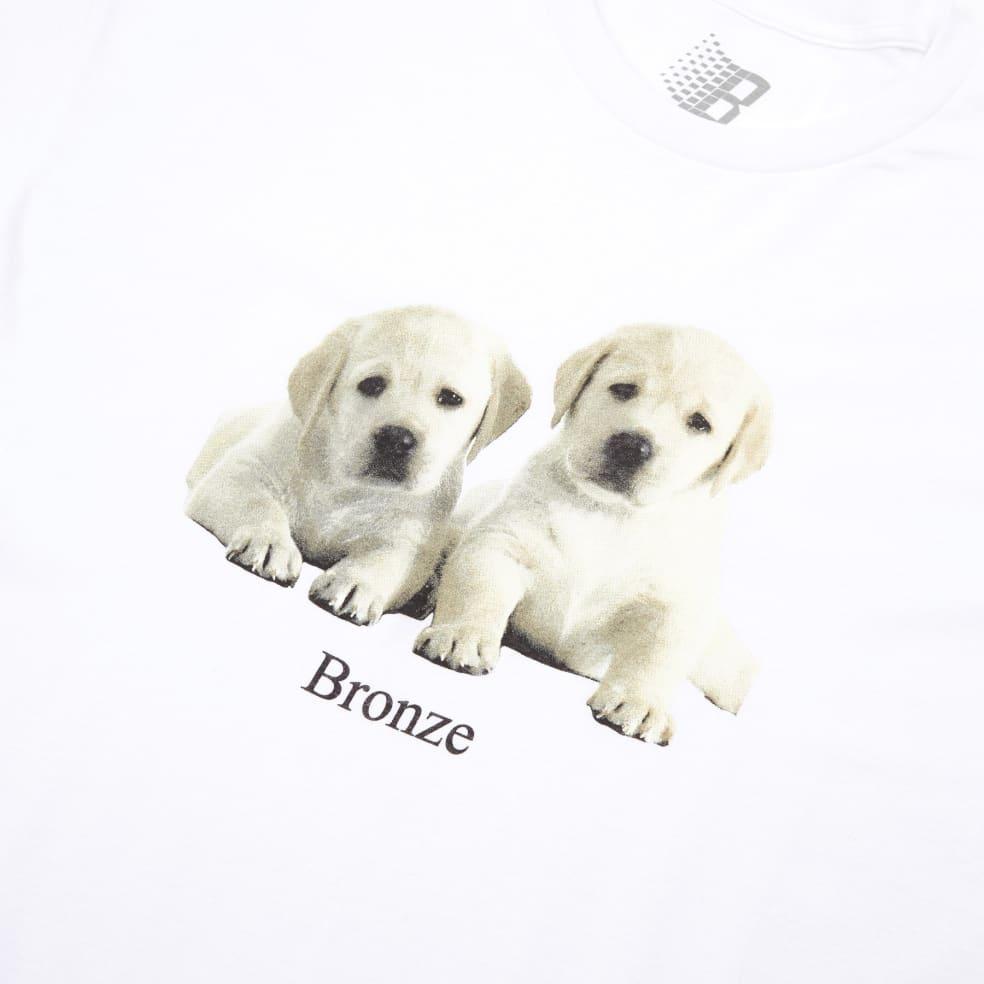 Bronze 56k Puppies T-Shirt - White   T-Shirt by Bronze 56k 2