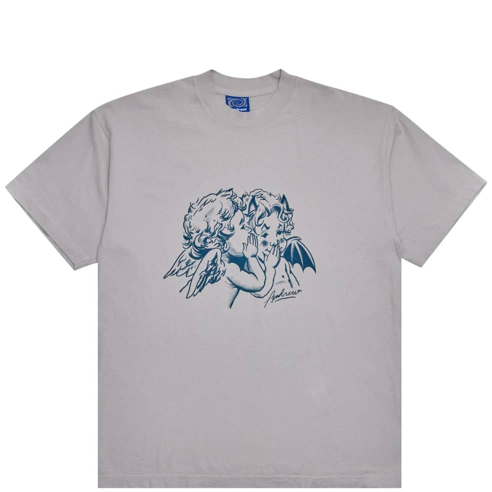Andrew Good & Evil T-Shirt - Cement | T-Shirt by Andrew 1