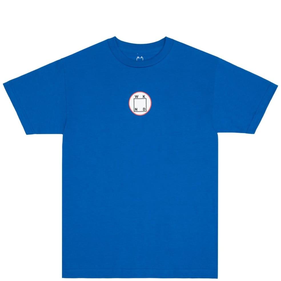 WKND Circle Logo T-Shirt - Royal Blue   T-Shirt by WKND 1