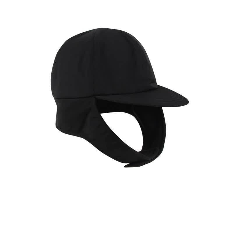 Hélas Flap Cap - Black   Baseball Cap by Hélas 2