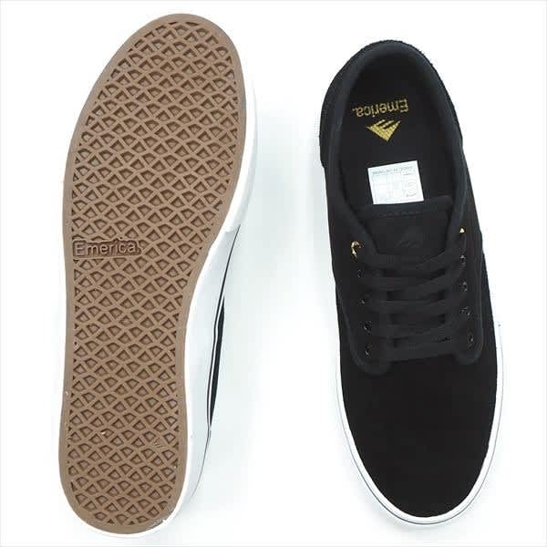 Emerica Wino Standard Skate Shoes - White / Black / Gold   Shoes by Emerica 3