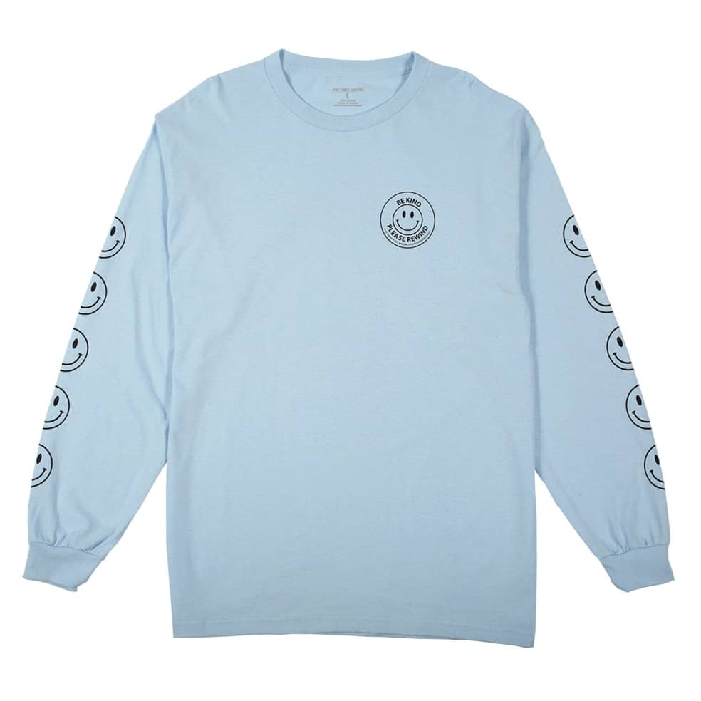 Picture Show Be Kind Long Sleeve Tee Powder Blue | Longsleeve by Picture Show Studios 1