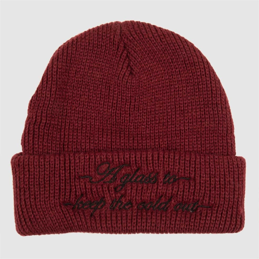 Pass~Port Cold Out Beanie - Burgundy | Beanie by Pass~Port Skateboards 2