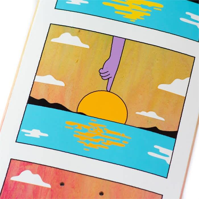 """Real Mason Sunset Deck 8.38""""   Deck by Real Skateboards 2"""