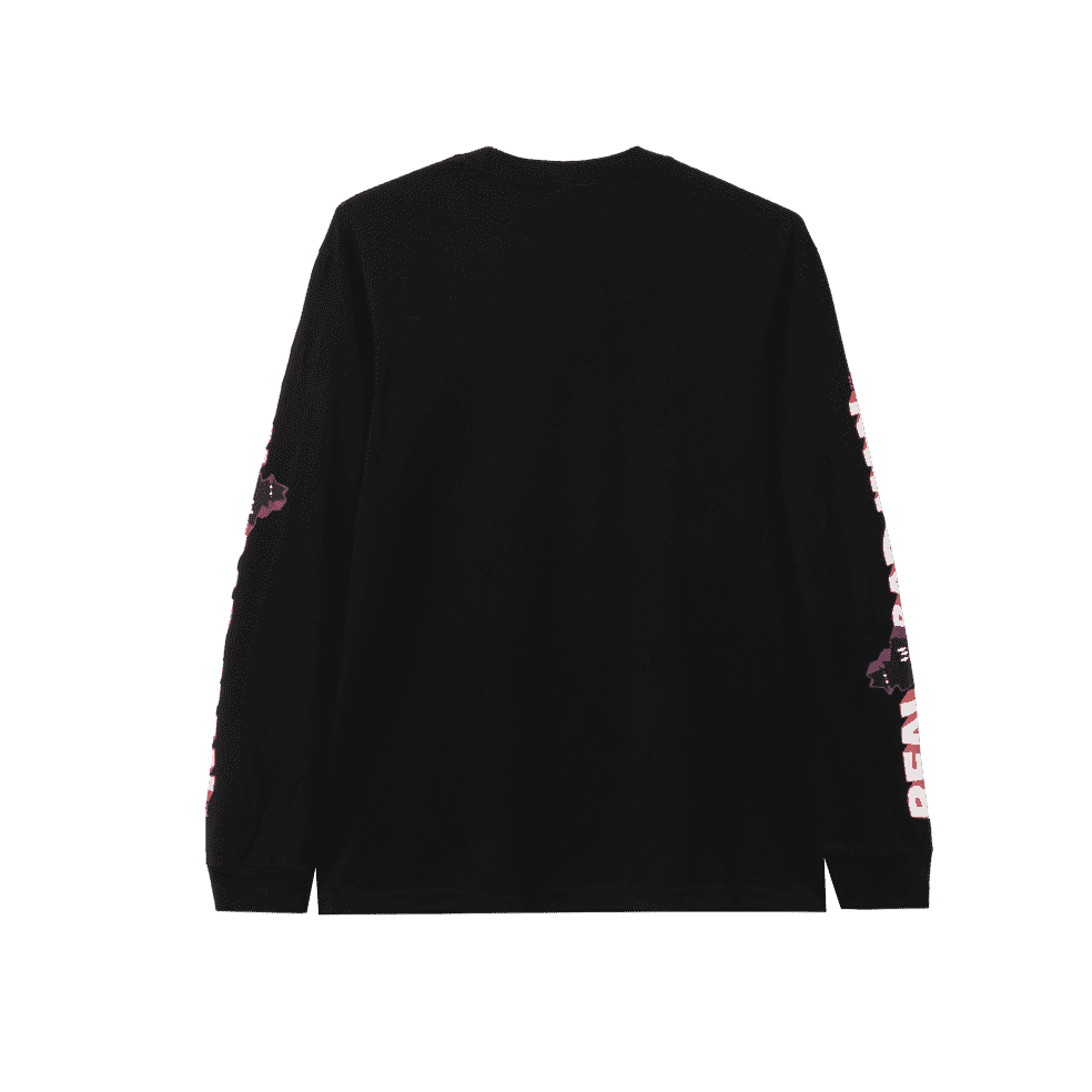 Real Bad Man Graphic Content Long Sleeve T-Shirt - Black   Longsleeve by Real Bad Man 2