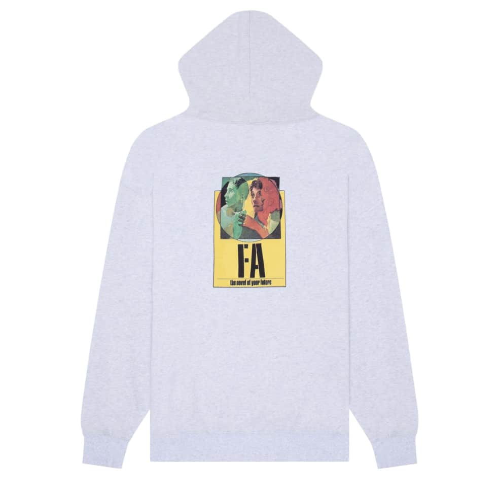 Fucking Awesome Hoodie Novel Of Your Future Heather Grey | Hoodie by Fucking Awesome 1