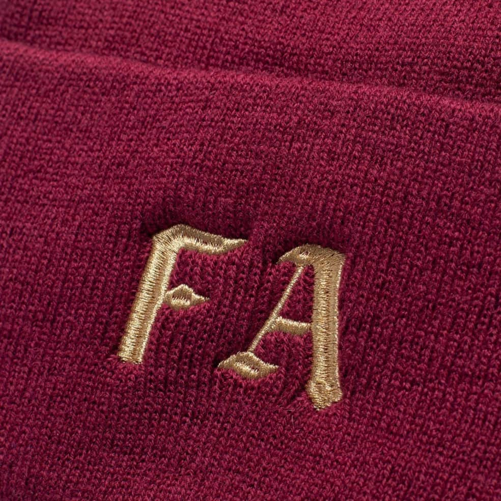 Fucking Awesome Children Of A Lesser God Beanie - Maroon   Beanie by Fucking Awesome 2