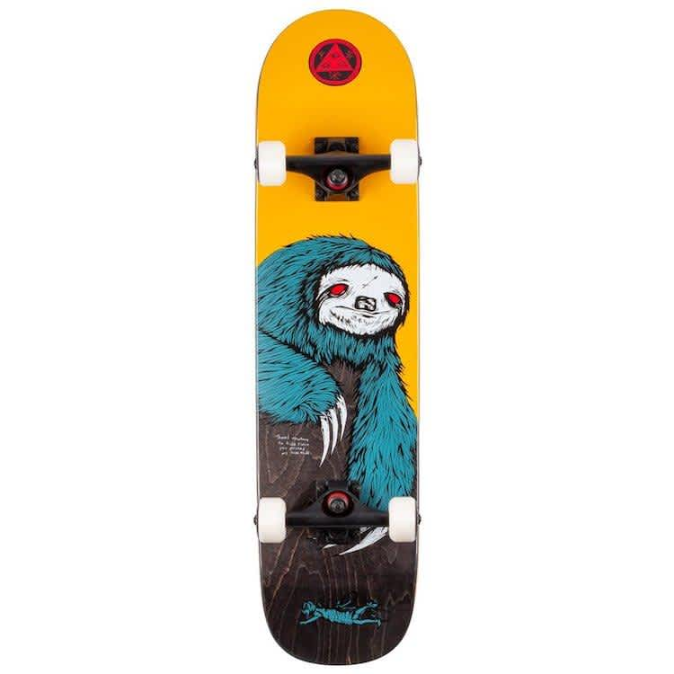 """Welcome Skateboards Sloth Complete on Scaled Down Bunyip Complete Skateboard 7.75""""   Complete Skateboard by Welcome Skateboards 1"""