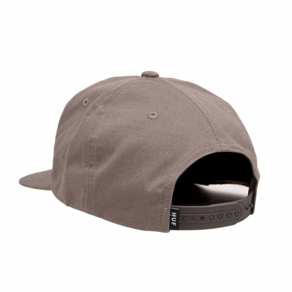 HUF Ess Unstructured Box Snapback - Brown | Snapback Cap by HUF 2