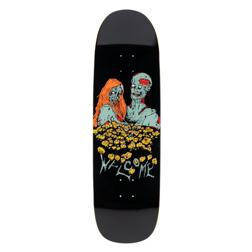 Zombie Love on Boline - Black - 9.25 | Deck by Welcome Skateboards 1