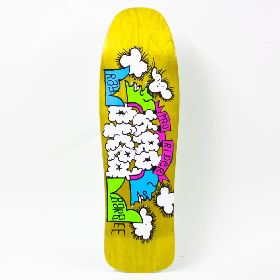 """Krooked """"Ray Barbee Clouds"""" Skateboard Deck 9.5""""   Deck by Krooked Skateboards 1"""