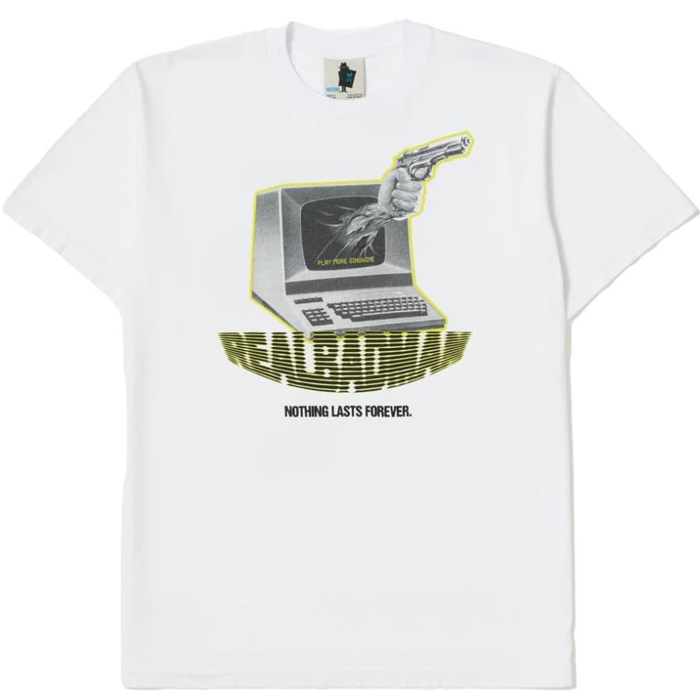 Real Bad Man Play More Ginuwine T-Shirt - White | T-Shirt by Real Bad Man 1