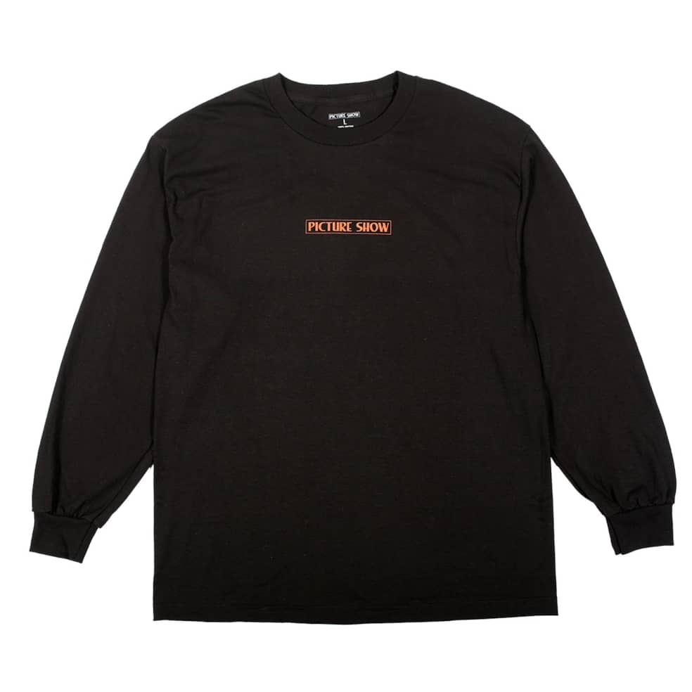 Picture Show Serpent Long Sleeve Tee Black | Longsleeve by Picture Show Studios 1