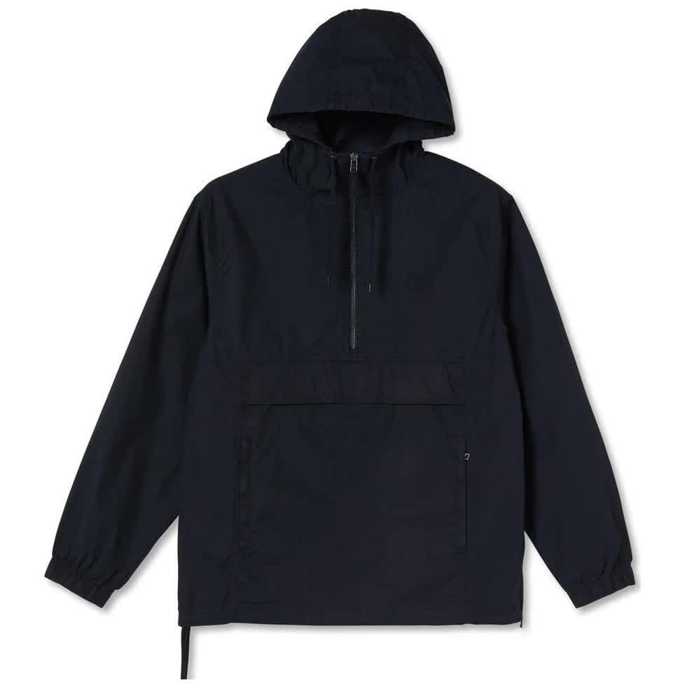 Polar Skate Co Cotton Anorak Jacket - Black | Jacket by Polar Skate Co 1