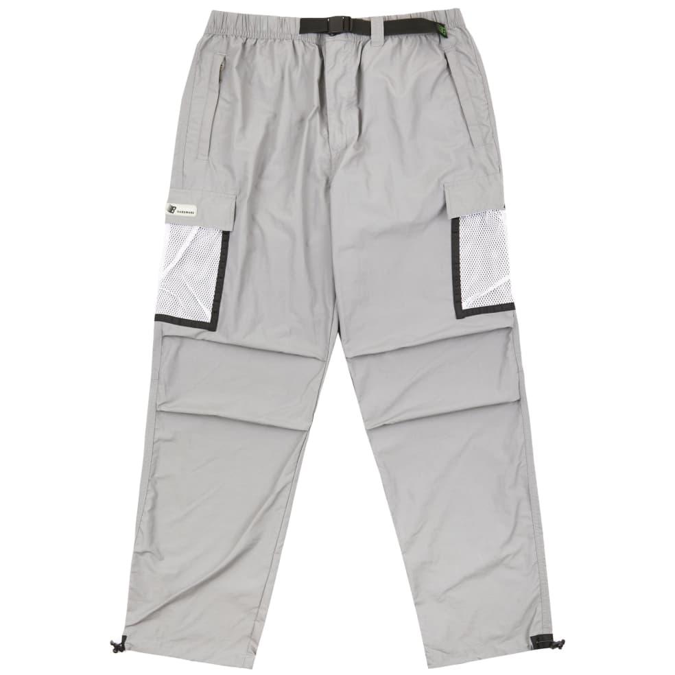 Bronze 56k Mesh Cargo Pants - Grey | Trousers by Bronze 56k 1