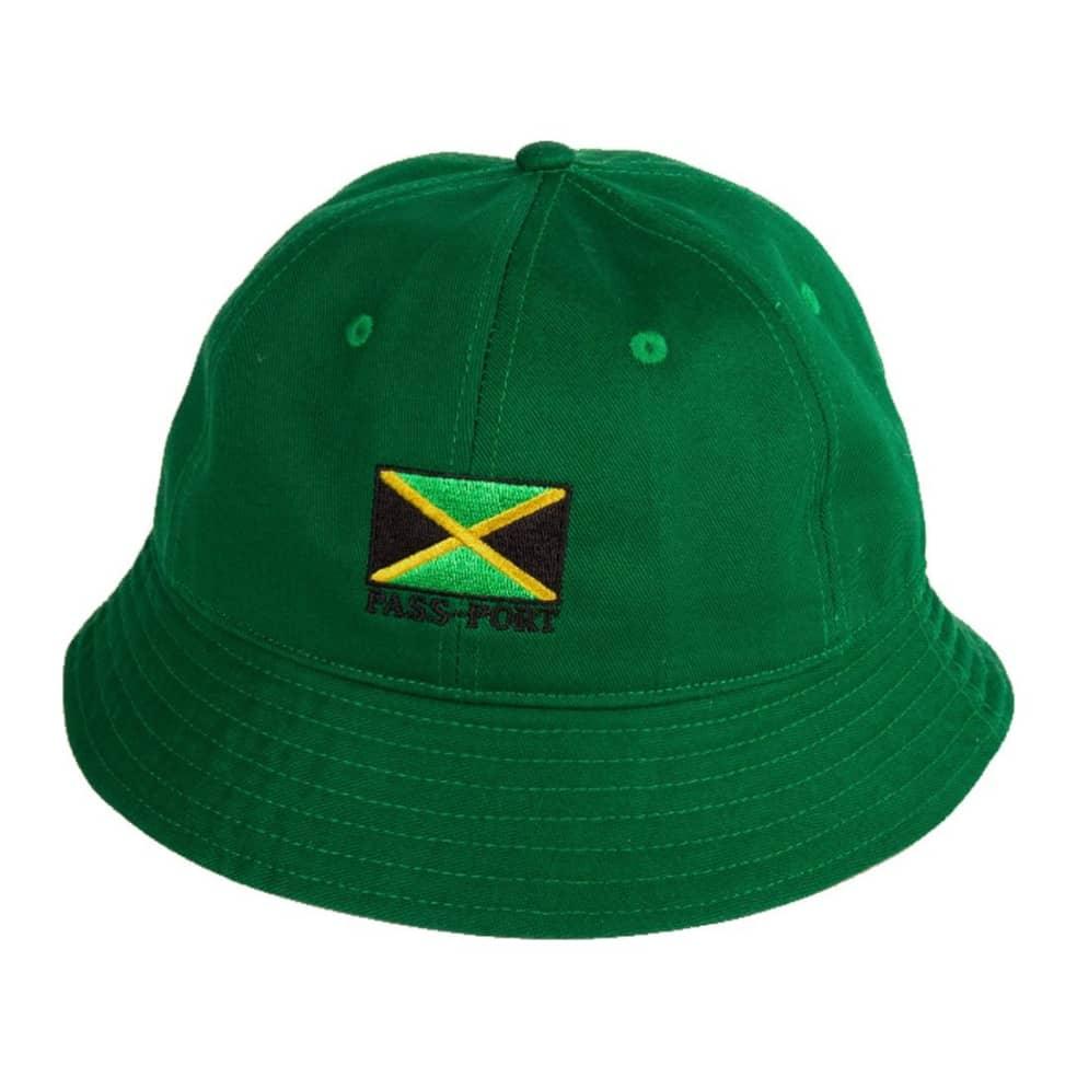 Pass~Port Jamaica Twill Bucket Hat - Green   Bucket Hat by Pass~Port Skateboards 1